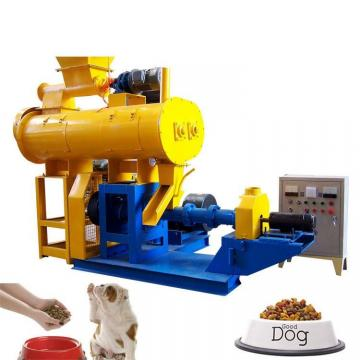 Long performance pet food production line / dog food processing equipment