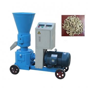 Flat Die Wood Pellet Making Machine / Industrial Wood Pellet Mill