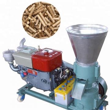 Diesel Engine Flat Die Pellet Mill for Animal Feed and Wood