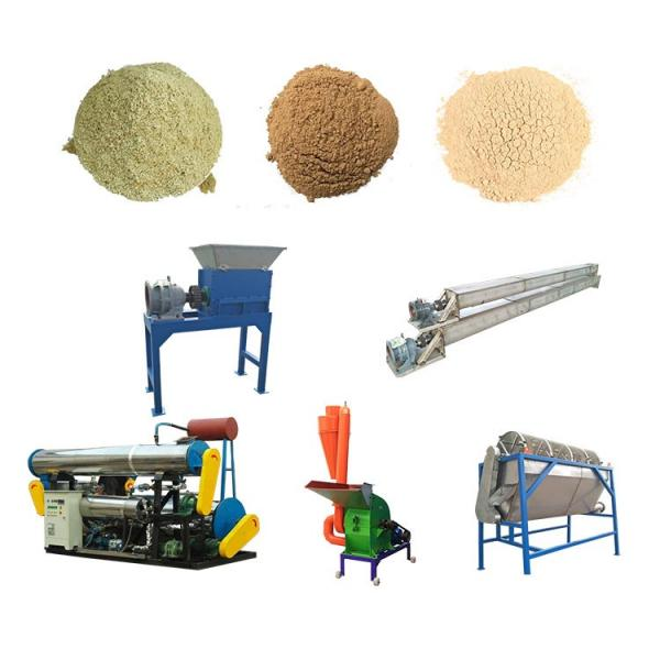 Fish Feed Pellet Production Line/Floating Fish Feed Extruder Machine/Animal Feed Pellet Machine #3 image