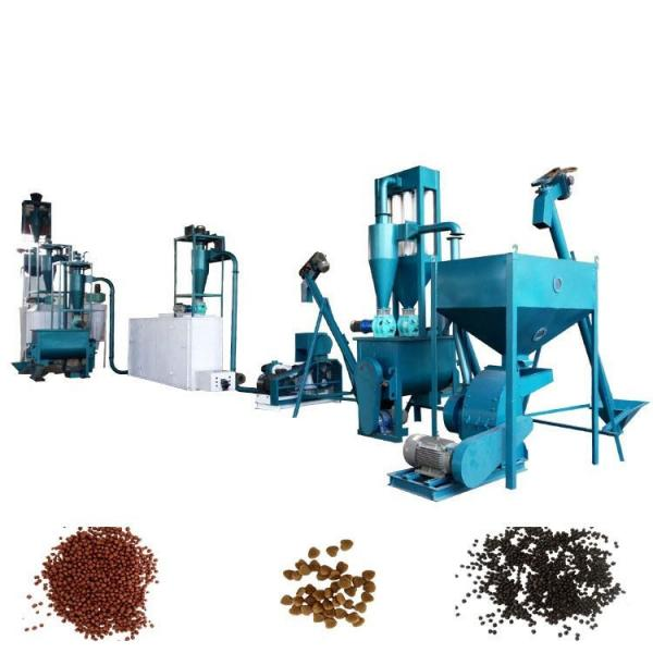 Farm Light Structure Animal Feed Pellet Machine For Rabbit / Pig Feed #3 image