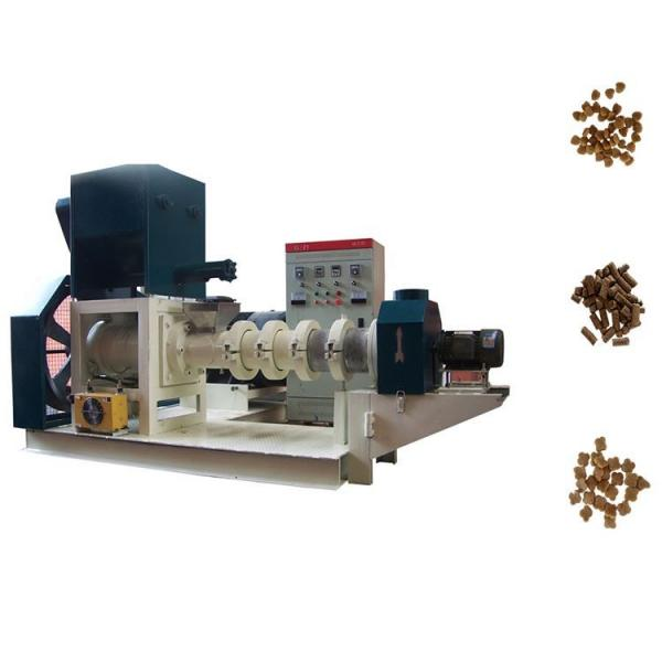 Fish Feed Pellet Production Line/Floating Fish Feed Extruder Machine/Animal Feed Pellet Machine #1 image