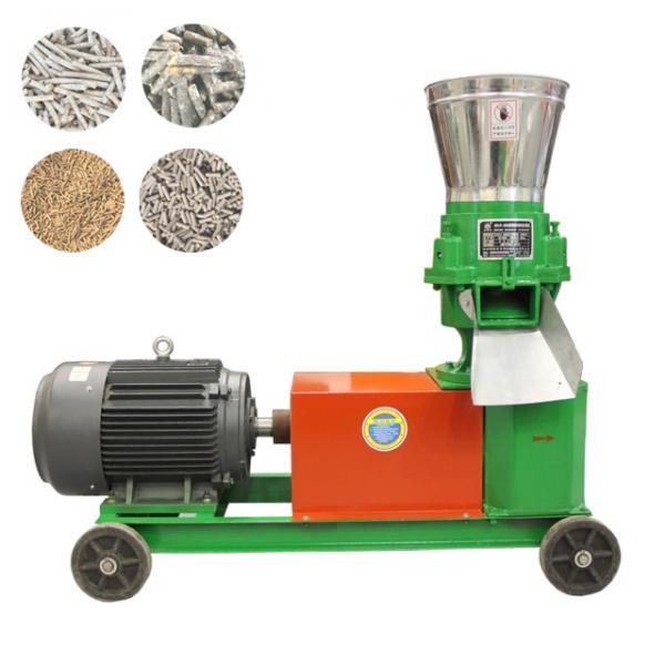 Animal Husbandry Feed Pellet Production Line With Ring Die Feed Pellet Machine #1 image